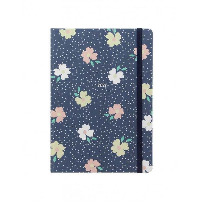 Floral A5 Week to View Diary 2021
