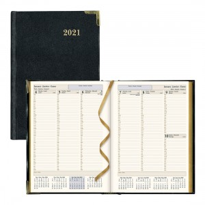 Executive Weekly Planner 2021 Black