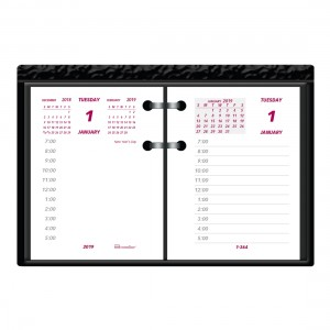 Refill 2022 for Daily Calendar Pad C1S, English