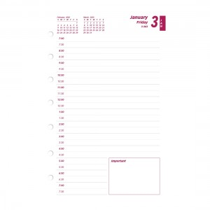 Refill 2020 for C5604 Daily Planner
