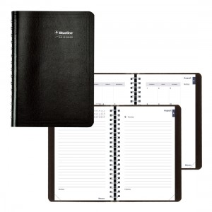 Academic Daily Planner Classic 2019-2020 Black