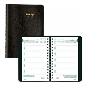 Ecologix Daily Planner 2021 Black