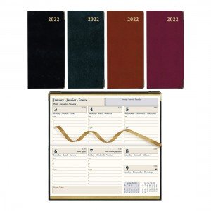Executive Weekly Pocket Planner 2022, Assorted colours