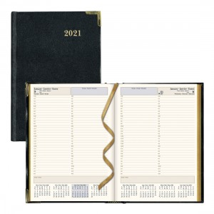 Executive Daily Planner 2021 Black