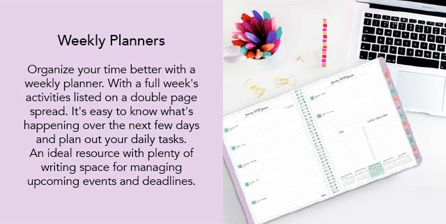 Brownline Weekly Planners
